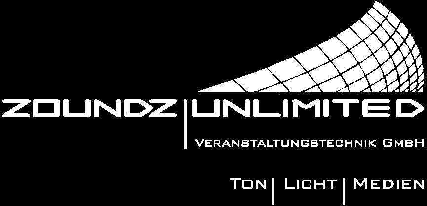 Transparentes Logo Zoundz Unlimited Veranstaltungstechnik GmbH